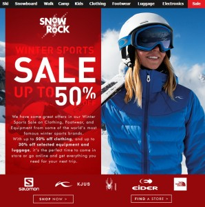 Snow + Rock Winter Sale
