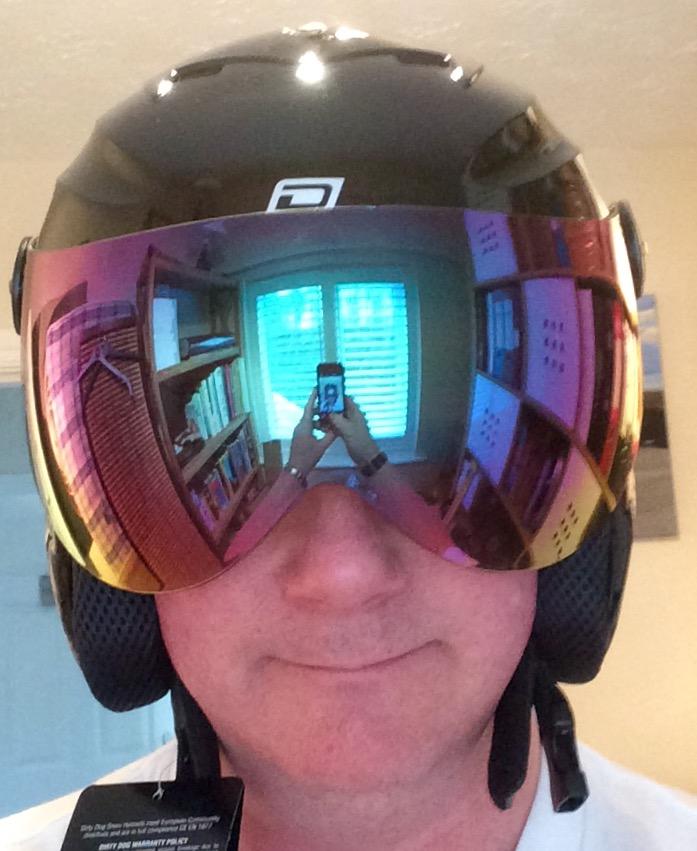 Apache Ski Helmet