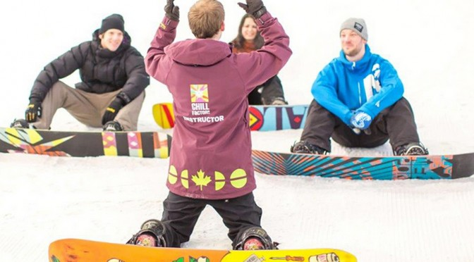 Chill Factore Lesson Offer from Groupon