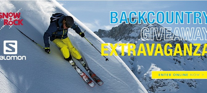 Snow+Rock Backcountry Giveaway Extravaganza!