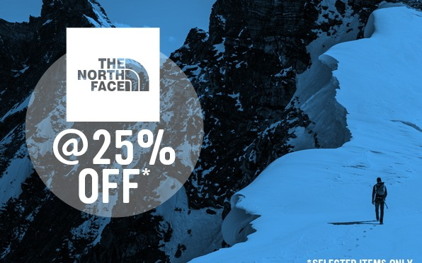 Surfdome North Face Sale