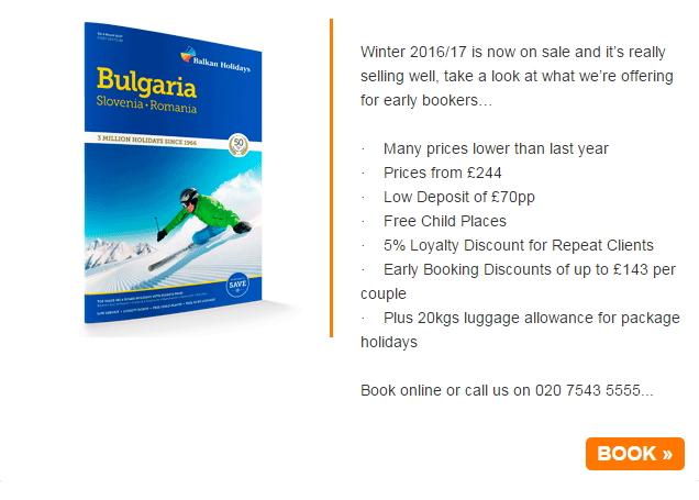 Balkan Holidays Contact