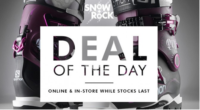 60% off Salomon & Atomic Ski Boots from Snow+Rock