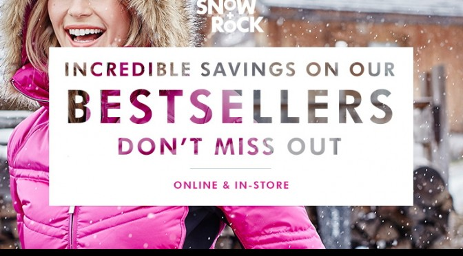 Up to 50% Off Final Reductions at Snow&Rock