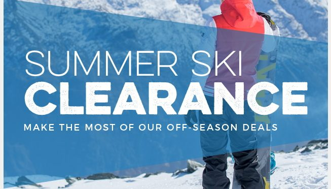 Trespass Summer Ski Clearance 75% Off