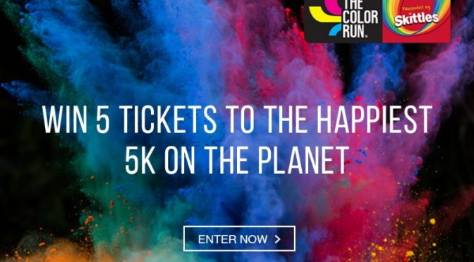 Win Tickets to the Color Run from Dare2b