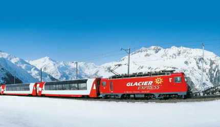 Crystal Swiss Transfers by Train