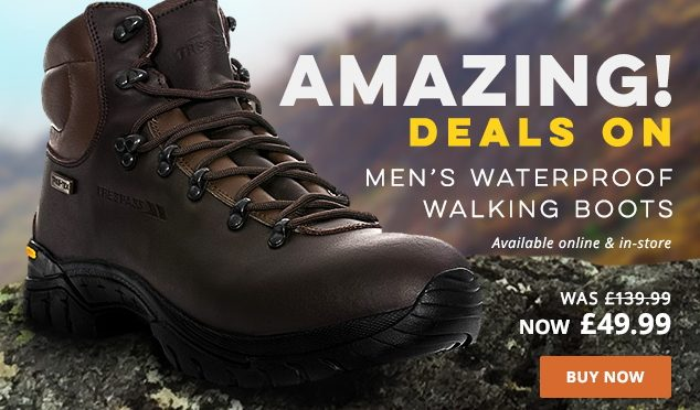Winter Footwear Deals From Trespass