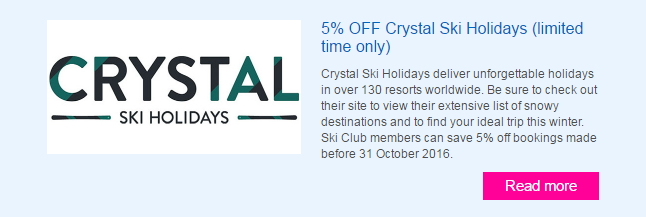 Crystal Offers