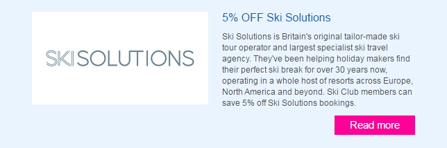 Ski Solutions Offers