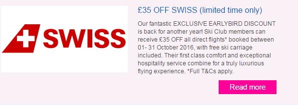 swiss offers