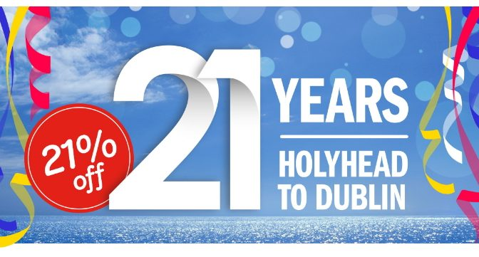 StenaLine 21% Off to Ireland