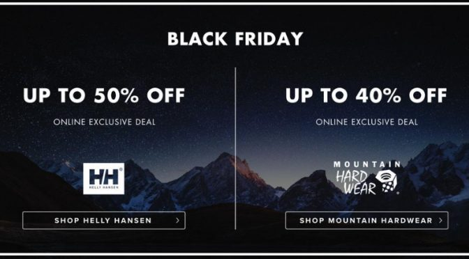 Snow + Rock Black Friday 40% Off
