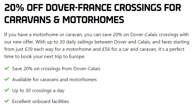 DFDS 20% Off