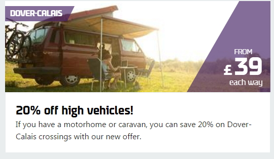 20% Off DFDS Sailings for High Vehicles