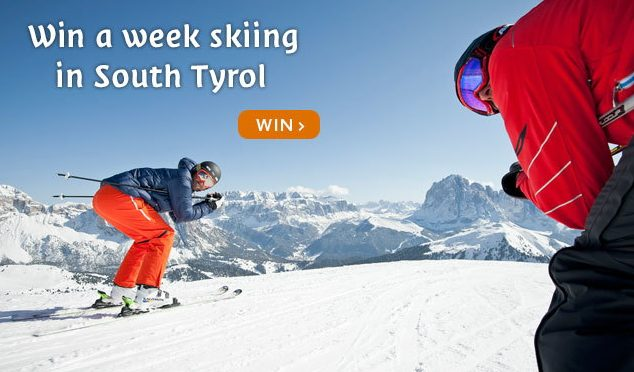 Win a Weeks Skiing in South Tyrol