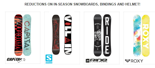 Winter Sale Boards