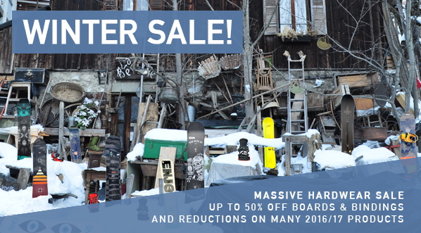 The Board Basement Winter Sale 50% Off