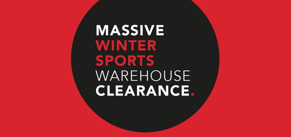 Snow + Rock Winter Warehouse Clearance Now On