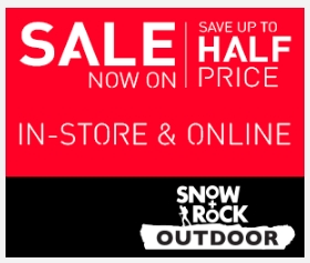 Snow + rock warehouse clearance